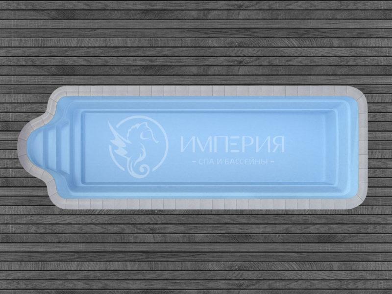 "Композитный бассейн ""Ле Ман"""