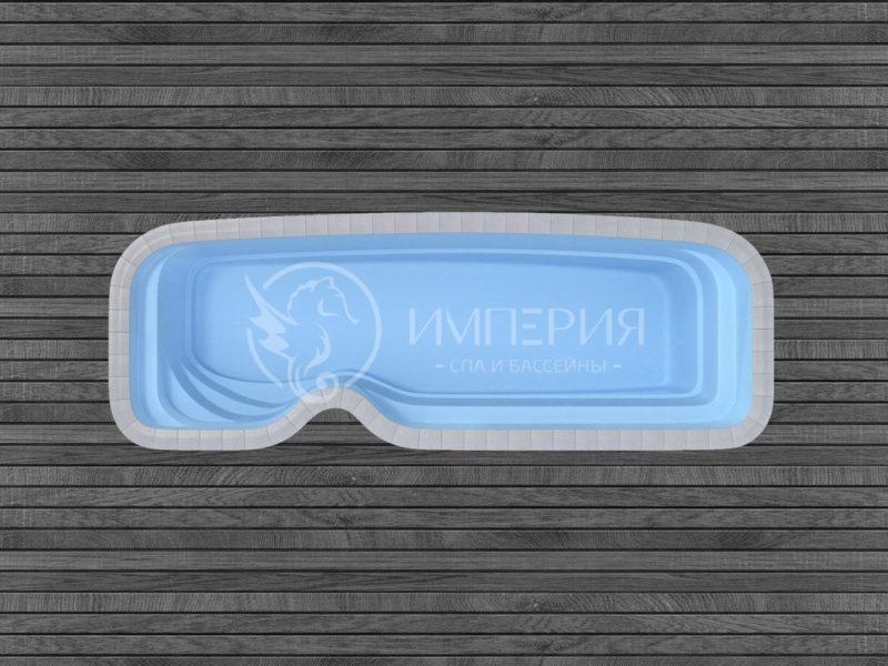"""Композитный бассейн """"Нарбонн"""""""